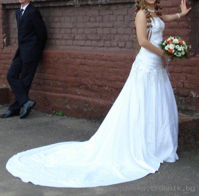 платье со шлейфом выкройка